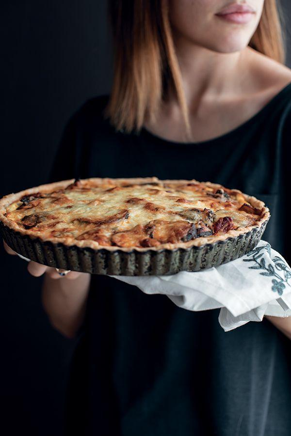 tarte la lasagne v g tarienne de 3 fois par jour tartes sal es pinterest lasagne. Black Bedroom Furniture Sets. Home Design Ideas