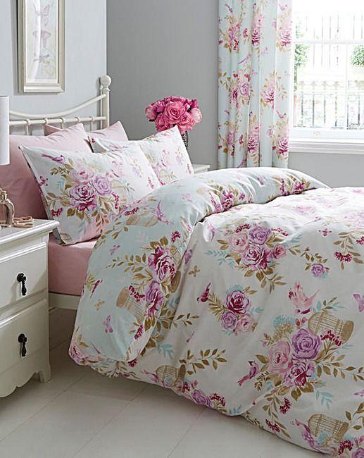 Birdcage Blossom Duvet Cover Set House Of Bath
