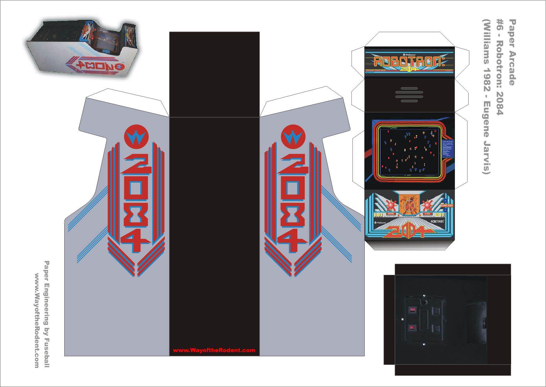 robotron arcade machine
