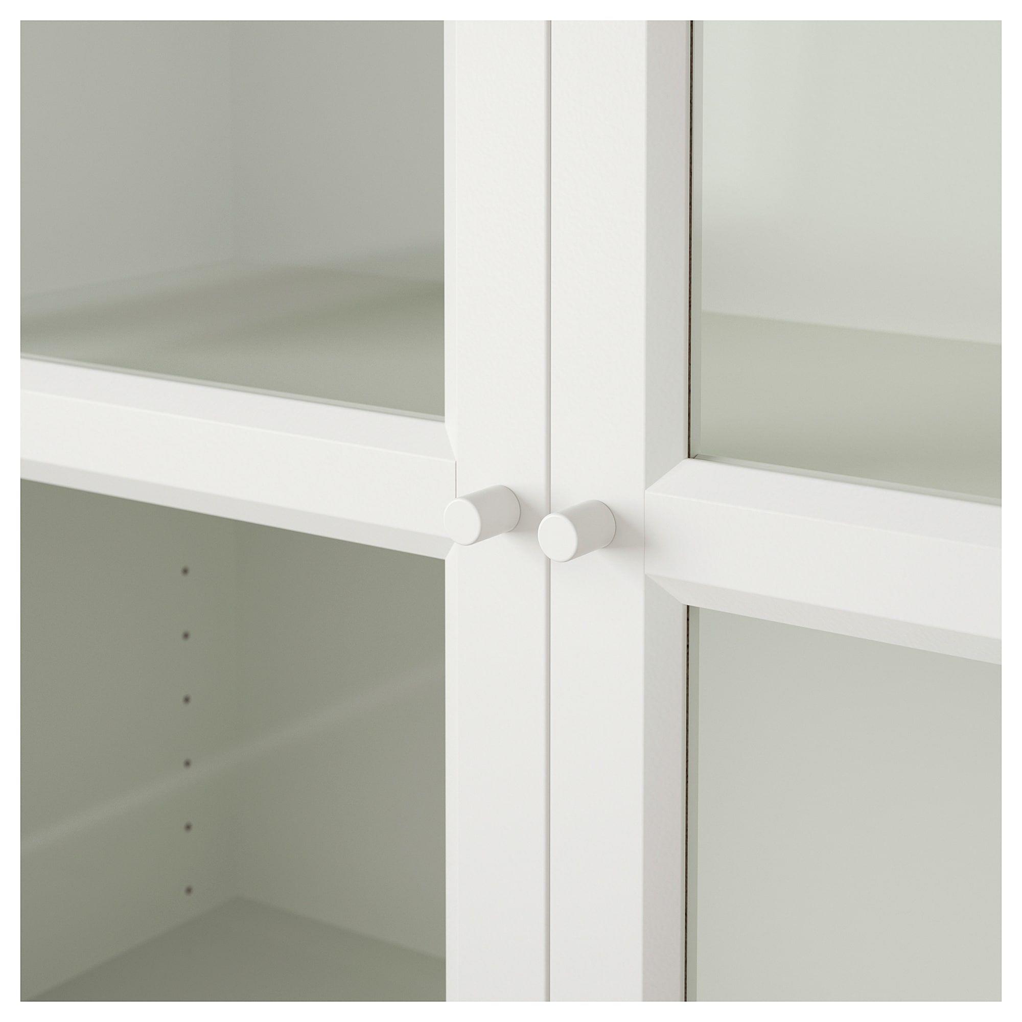 Libreria Billy Ikea Con Ante.Bookcase Billy Oxberg White Mia S Office Bookcase With Glass