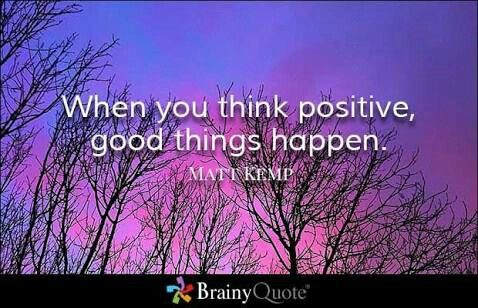 When You Think Positive, Good Things Happen. You Cannot Expect Positive  Life From Negative