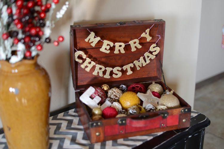 Alter Koffer Deko alter koffer deko weihnachten weihnachtskugel sammlung vintage