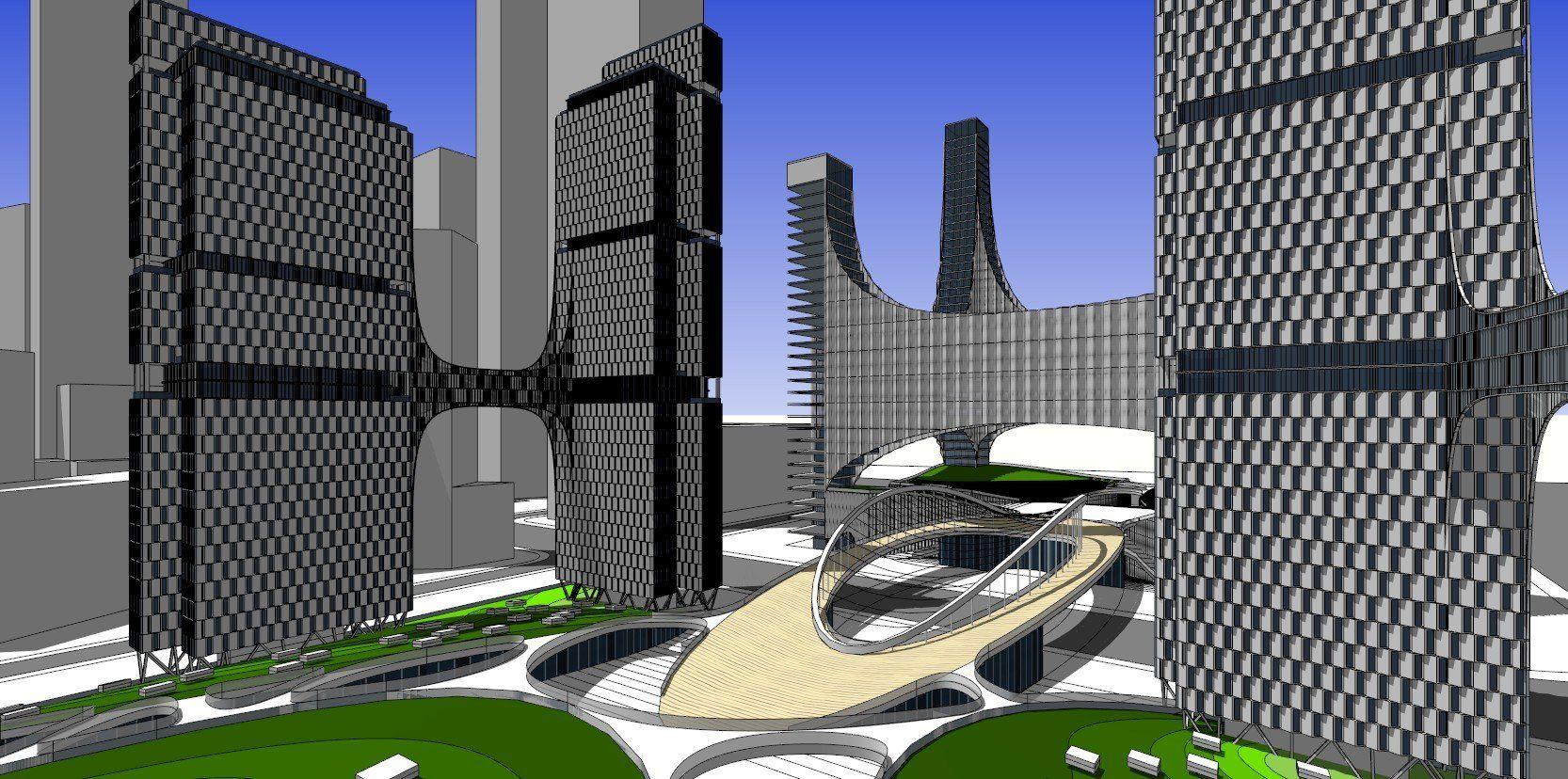 ★Sketchup 3D ModelsSkyscraper Sketchup Models ★Sketchup