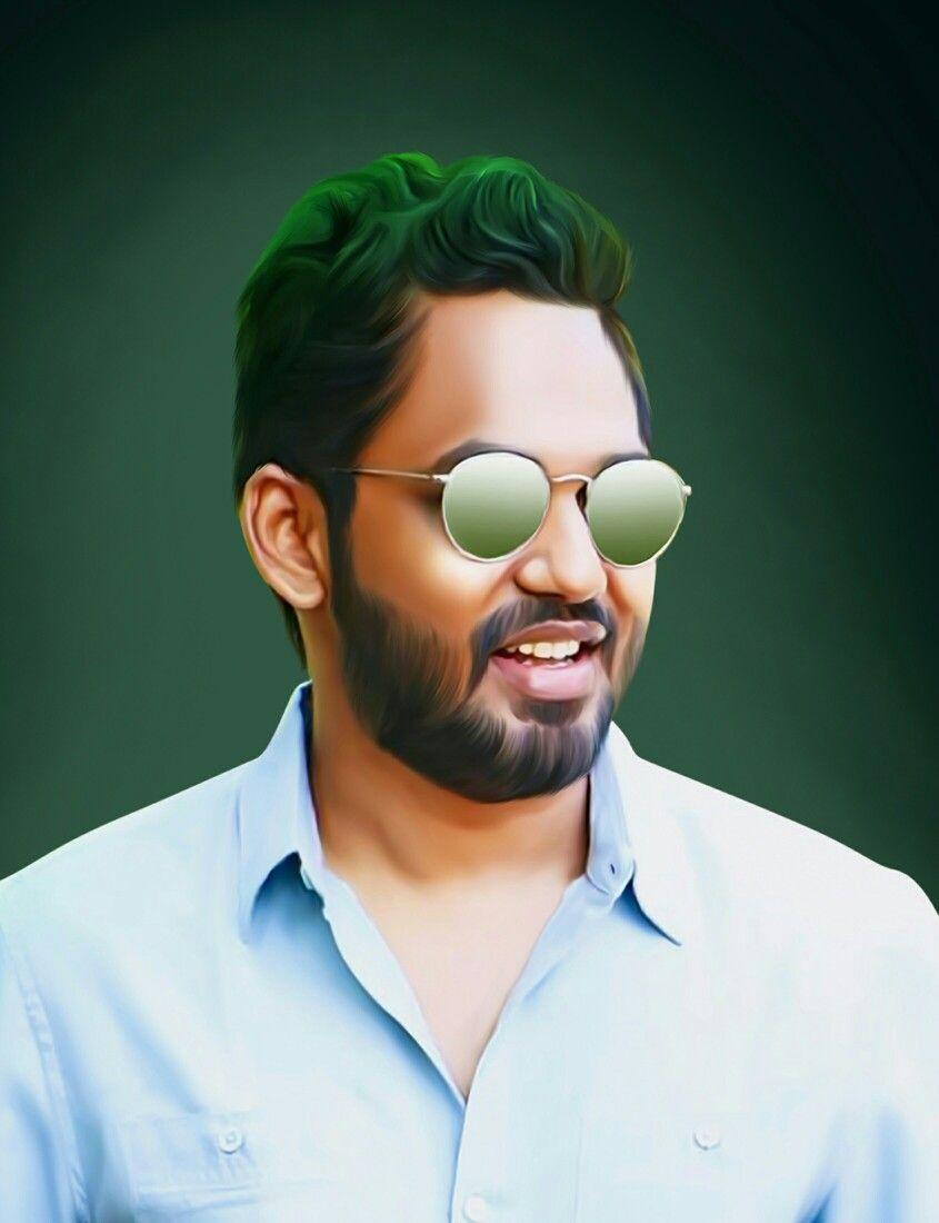 Hip Hop Tamizha Hiphoptamizha Aadhi Prasanthpras Fanedit Meesayamurukku Art Ps Portrait Digitalart Smudge Th Hip Hop Images Hip Hop Actor Photo