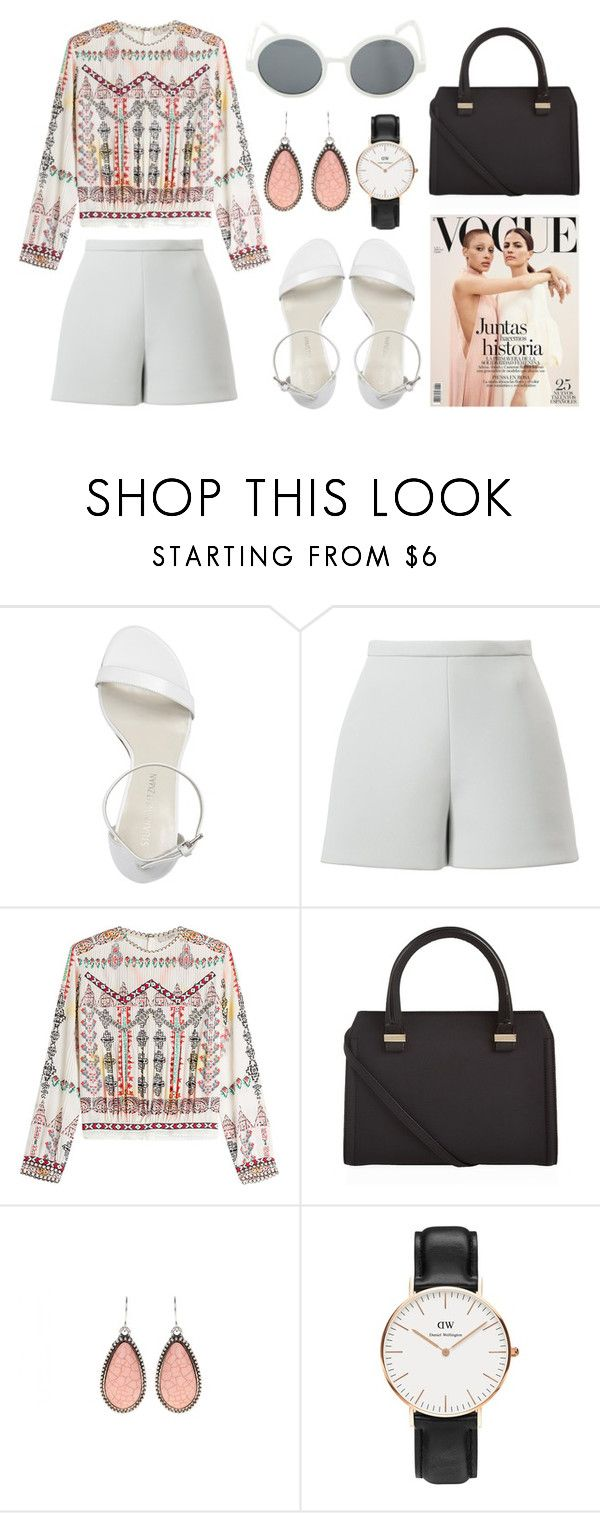 """01.08"" by inesf-bm ❤ liked on Polyvore featuring Stuart Weitzman, Delpozo, Etro, Victoria Beckham, Daniel Wellington and Hot Topic"