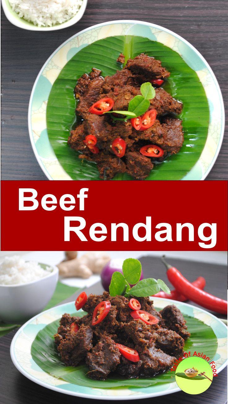 Authentic Beef Rendang Recipe Beef Rendang Recipe Food Recipes