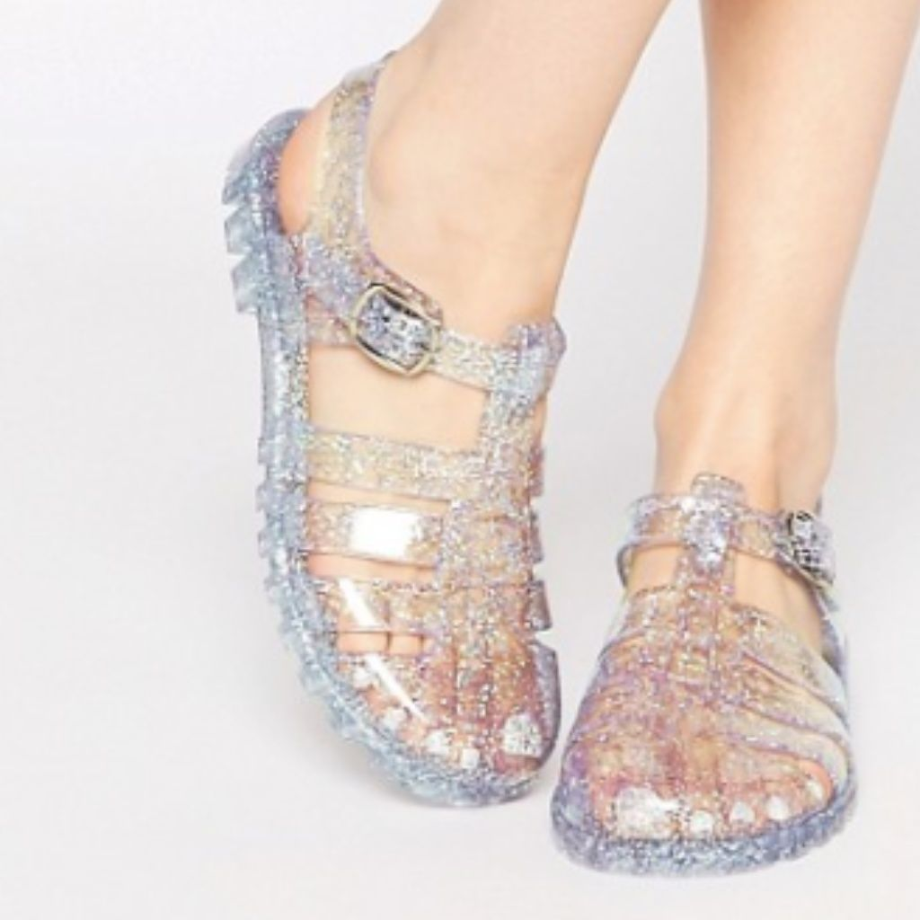 jelly shoes, Glitter jelly, Jelly sandals