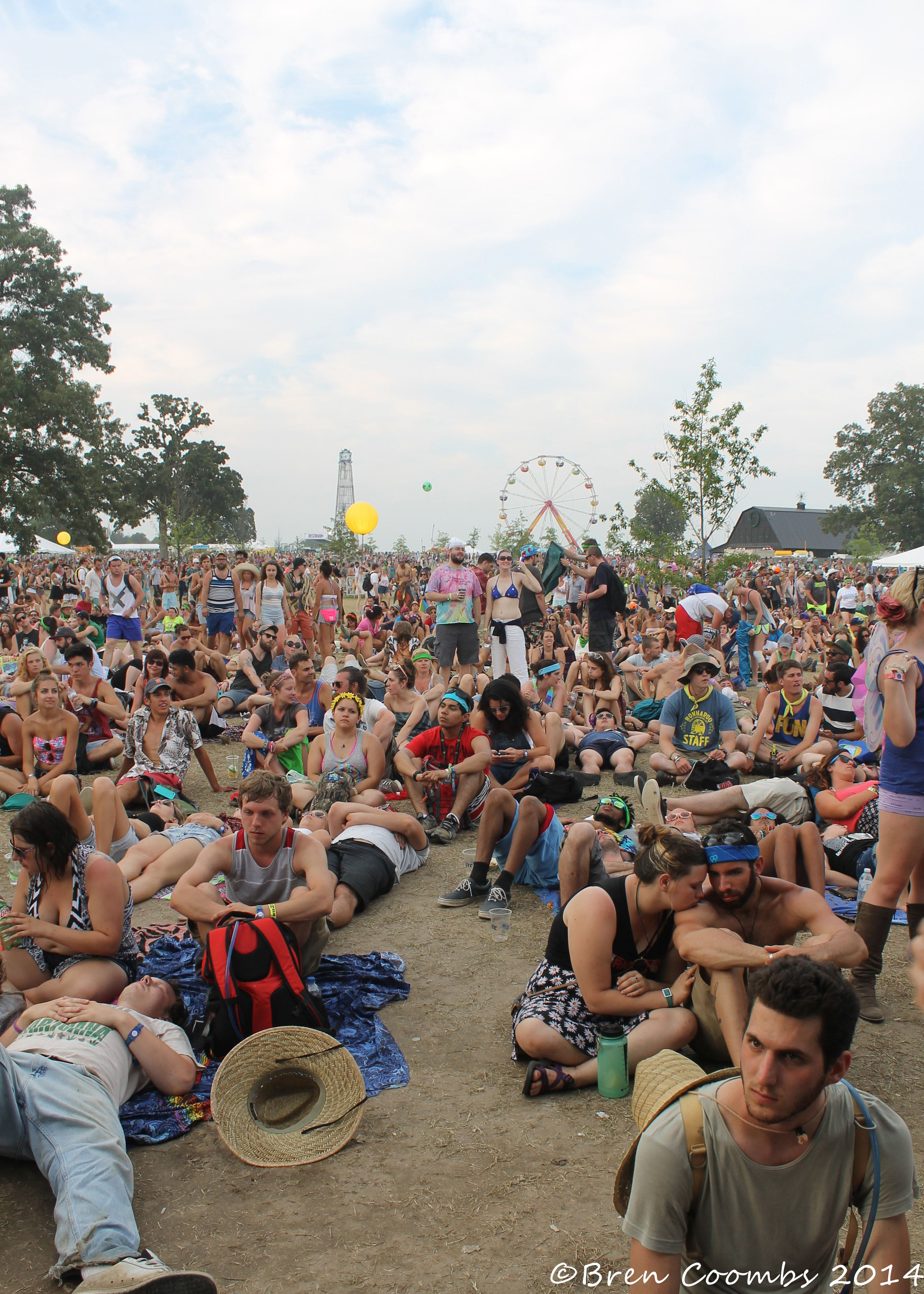 Bonnaroo crowd. ©Bren Coombs 2014