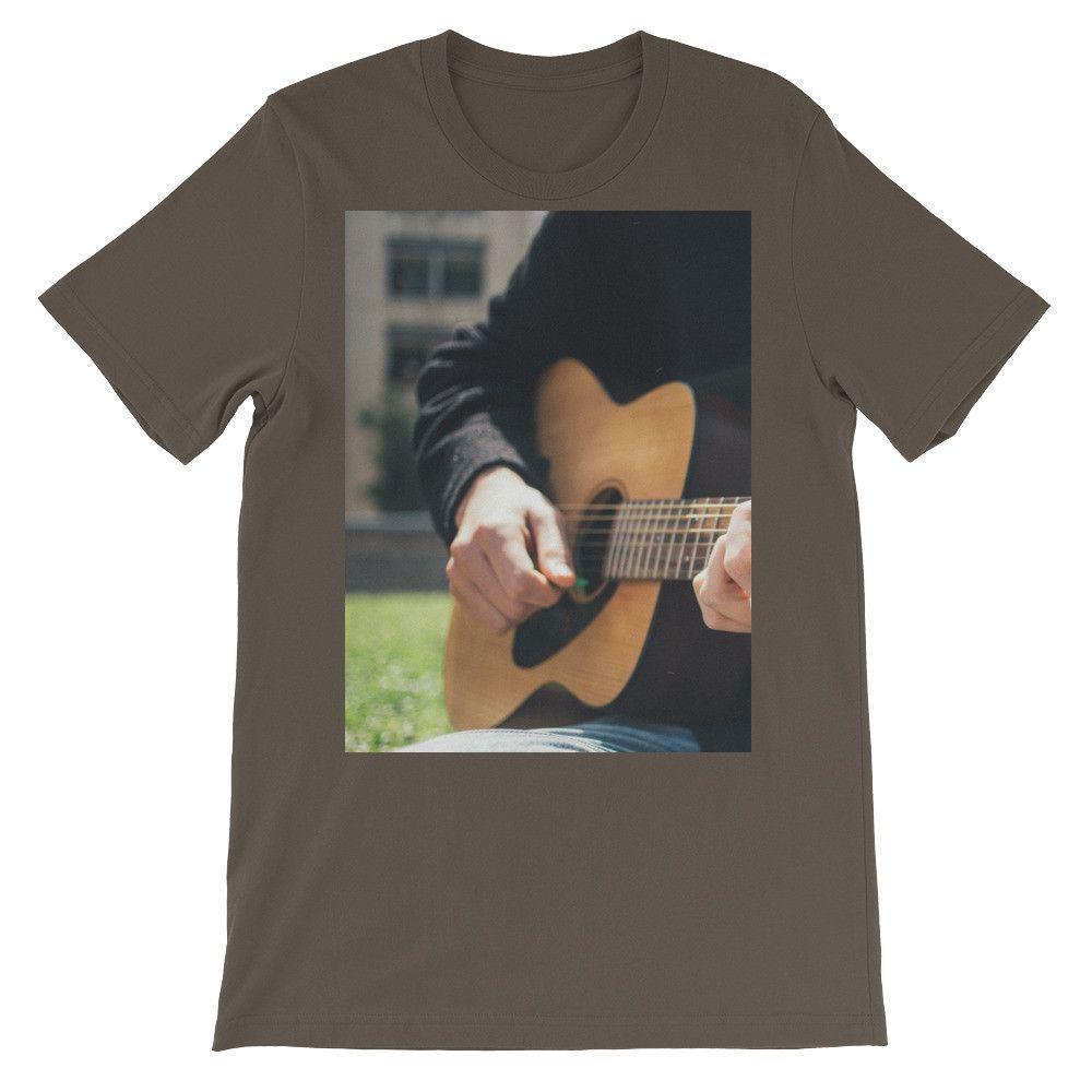 Unisex Guitarist short sleeve t-shirt