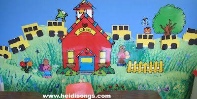 Kindergarten Lesson Plans, Week One! | Heidi Songs