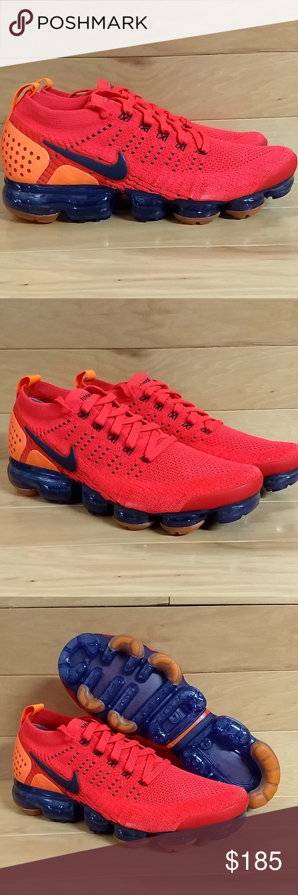 3b72d92d047b Nike Air Vapormax Flyknit 2 Spiderman AR5406-600 Brand New. With Box Great  quality Nike running casual sneakers at a great price.