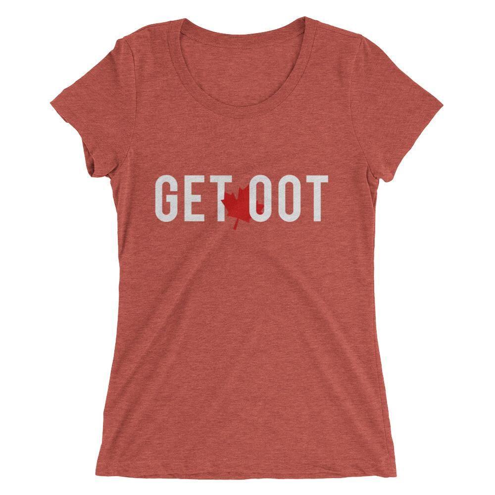 Ladies' Get OOT True Tri-Blend t-shirt