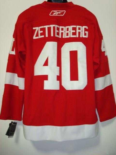 NHL Detroit Red Wings Jersey (77)  de5e3f010