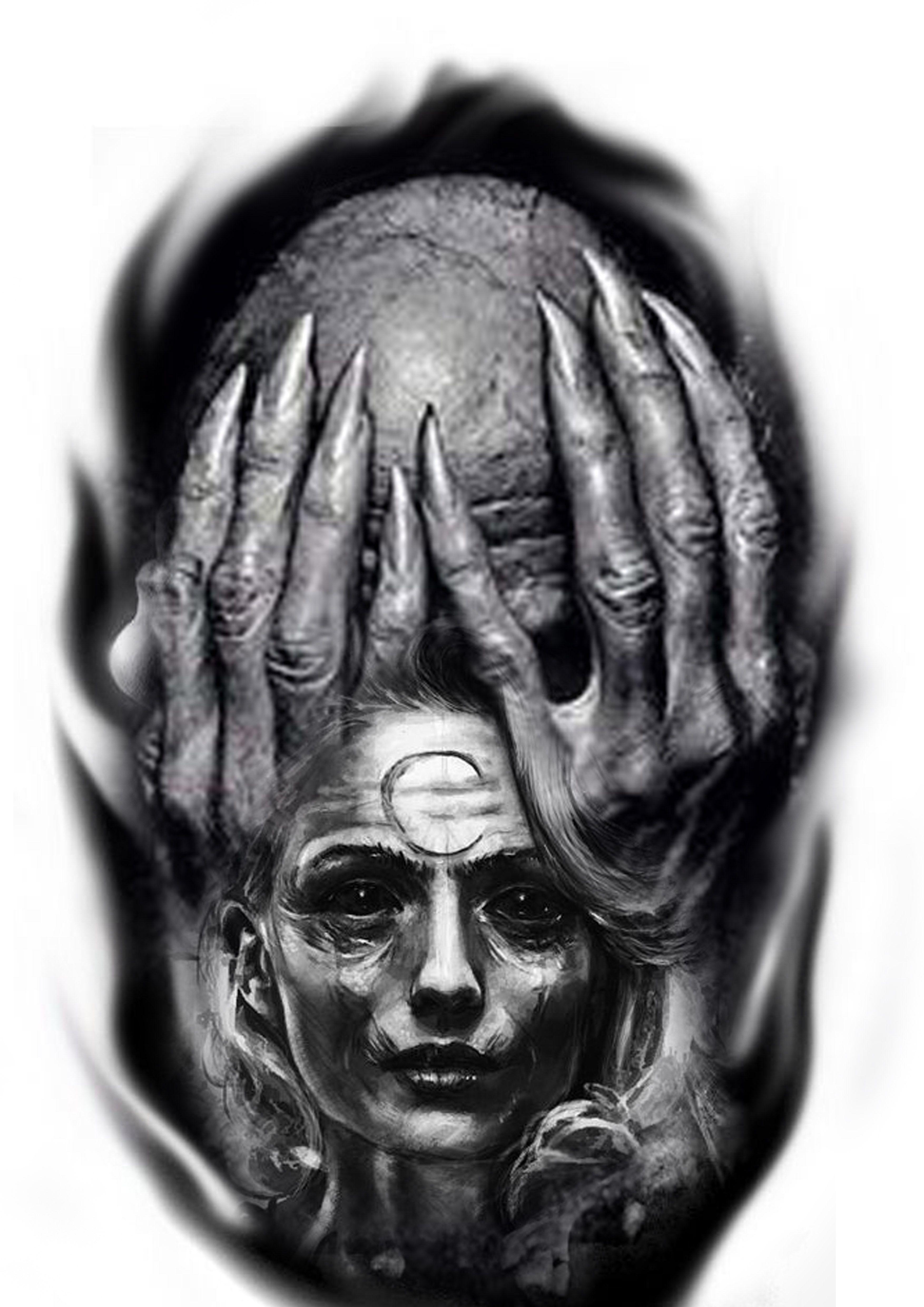 Black and white tattoo ideas pin by dark virus on tattoo  pinterest  tattoo tattoo designs and