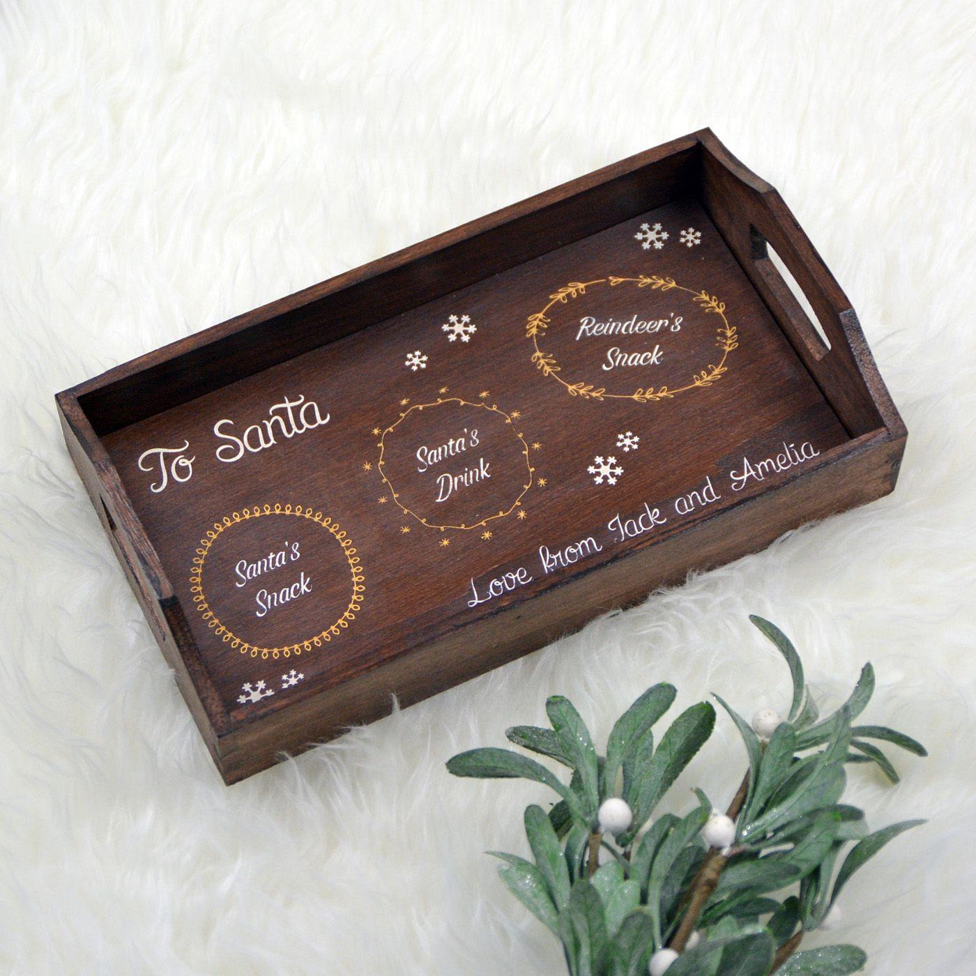Christmas Eve Santa\u2019s treat tray