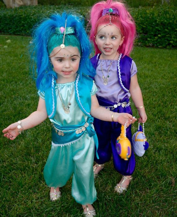 ad85fcc36cc Shimmer and shine costume Halloween dress up party shine   Halloween ...