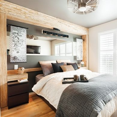 Awesome Chambre Rustique Chic Images - House Design - marcomilone.com
