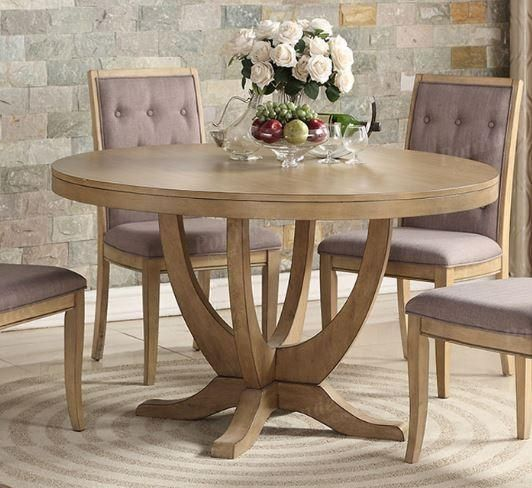 Light Natural Wood Round Dining Table In 2019 Products Round