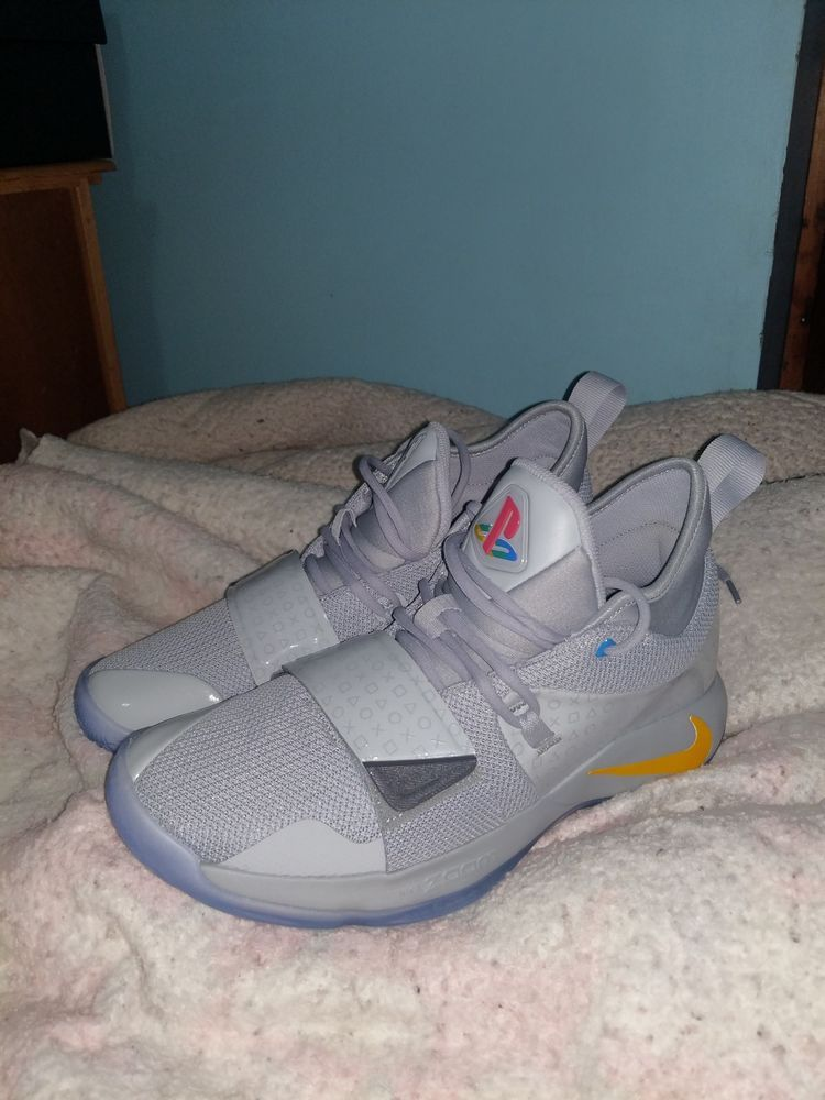 92109aead73e Nike Paul George collab with PlayStation. Size 10-grey. Original box. New.   fashion  clothing  shoes  accessories  mensshoes  athleticshoes (ebay link)