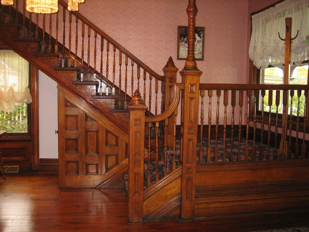 1887 Victorian staircase