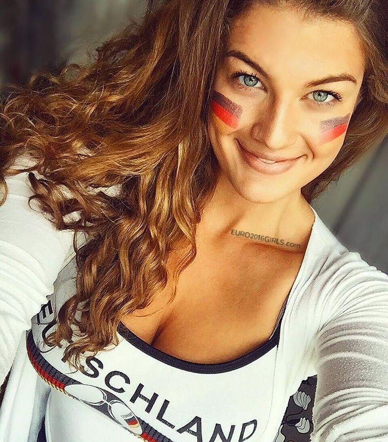 German Girls #2   EURO 2016 GIRLS   Hot fan, Football