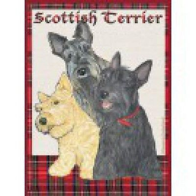 Garden Indoor/Outdoor Pipsqueak Flag - Scottish Terrier Scottie 499361