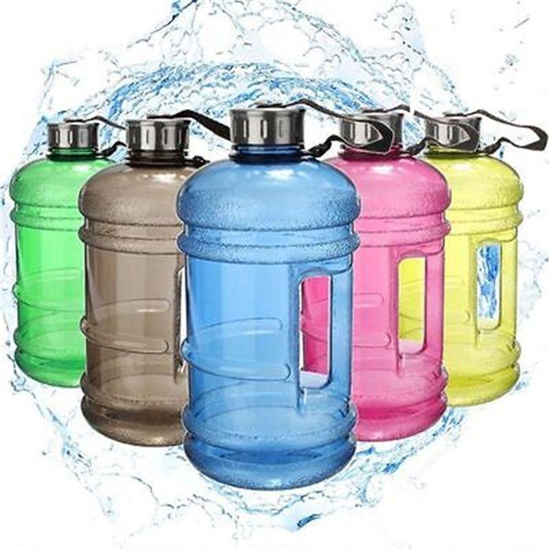 2.2L Free BPA Big Sport Gym Training Travel Drink Water