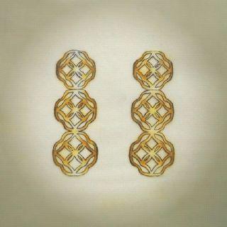 Brinco Athos em ouro amarelo 18k