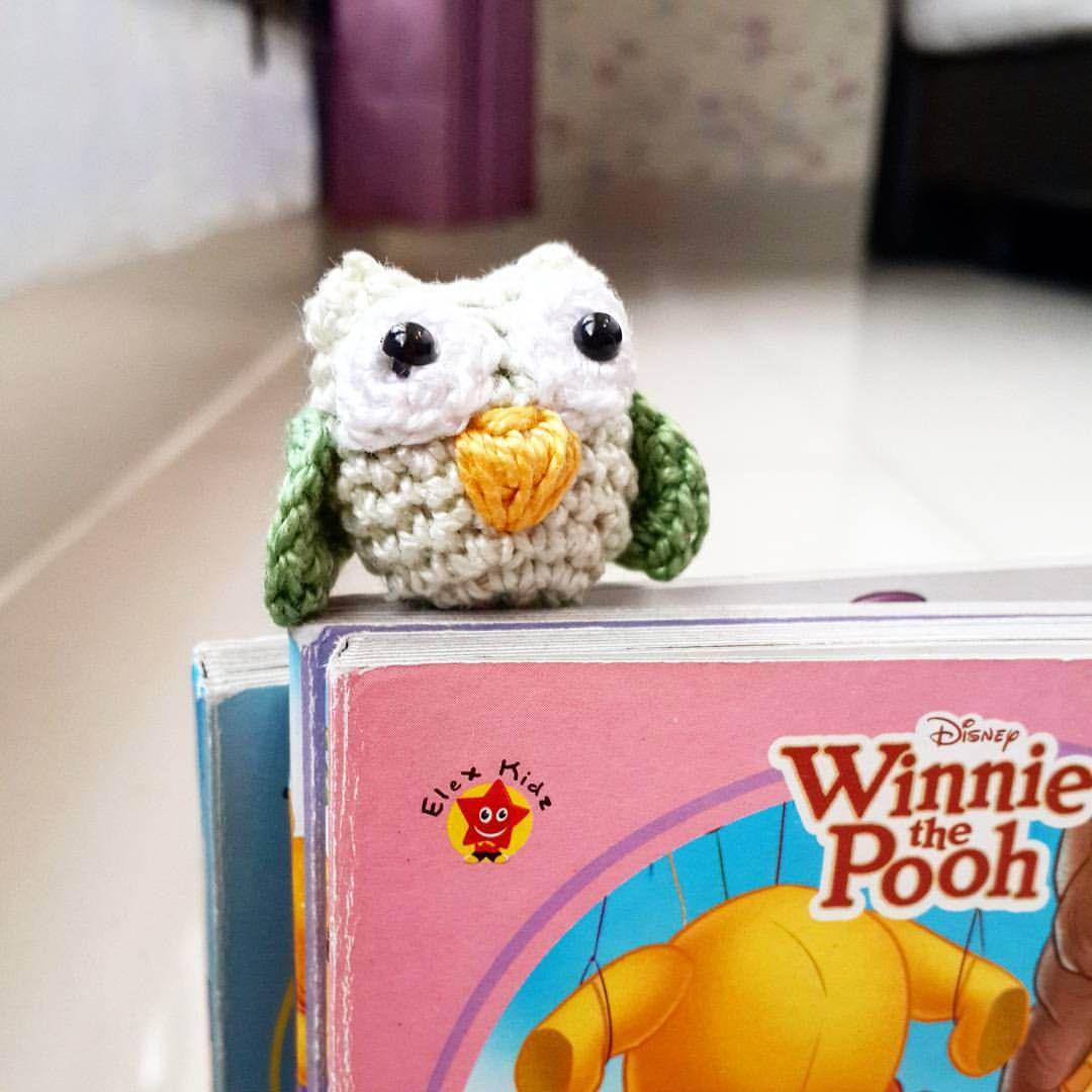 Crochet Owl Bookmark | Qays Design | Crochet - amigurumis ...