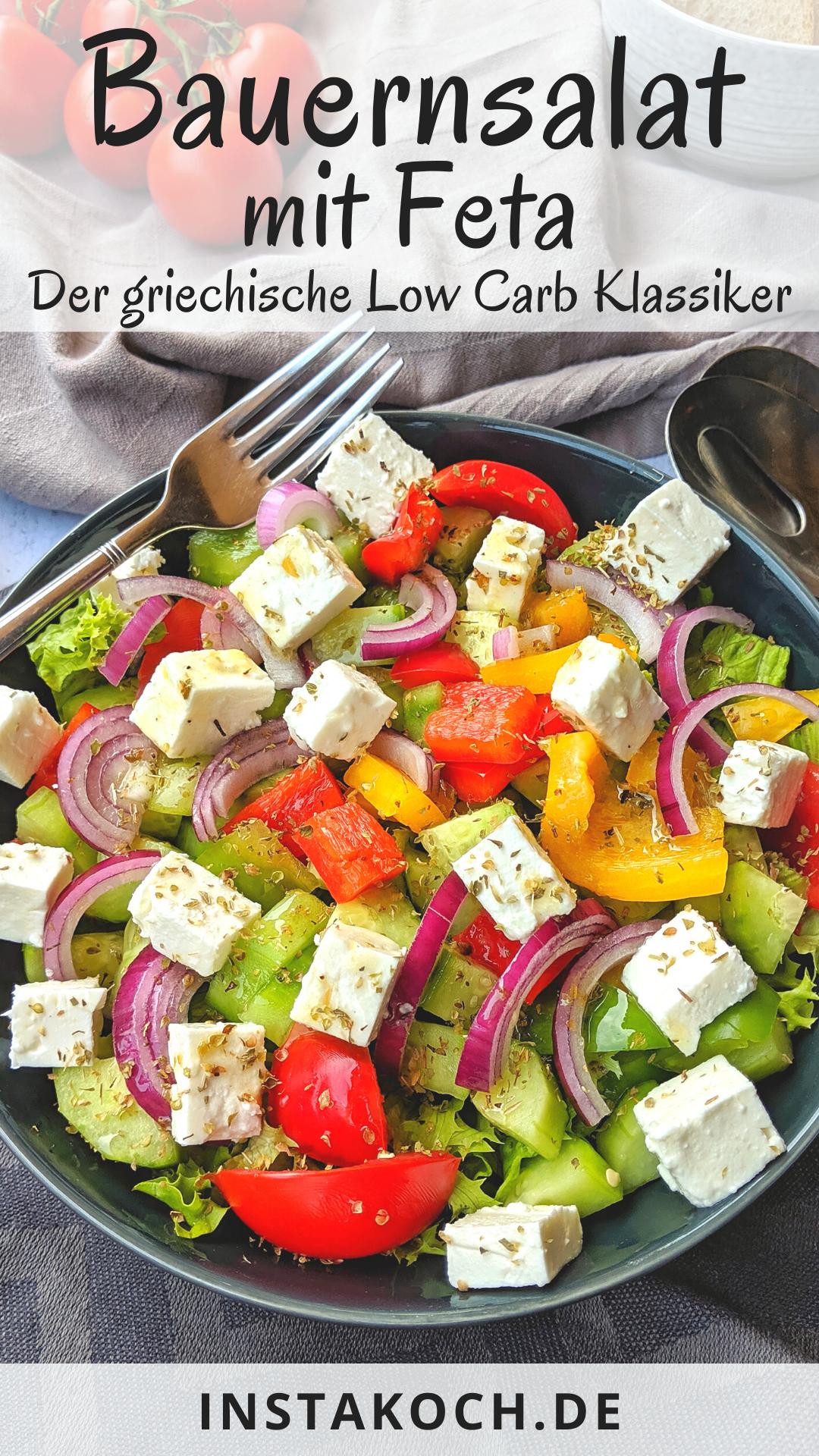 Bauernsalat - Tolle Low Carb Grillbeilage - Fertig in 20 Minuten - Chiara&GesundesEssen