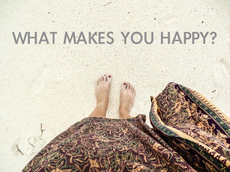 Was macht dich glücklich?
