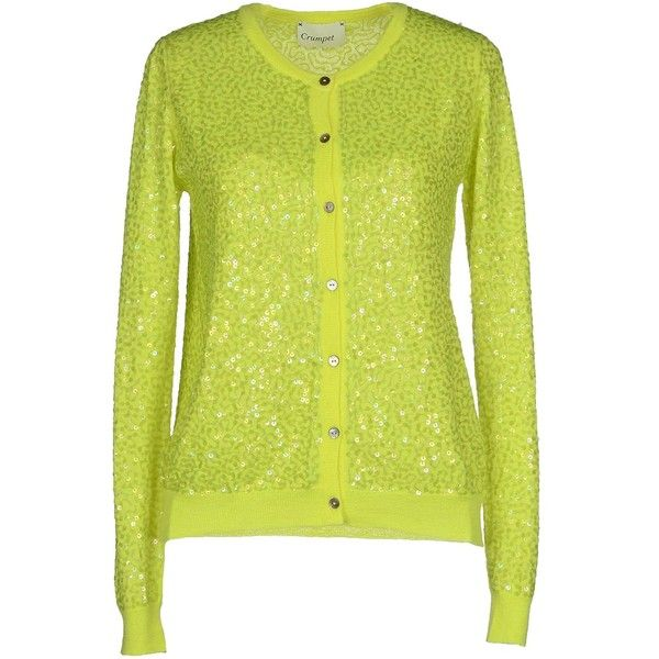 Crumpet Cardigan ($250) ❤ liked on Polyvore featuring tops ...