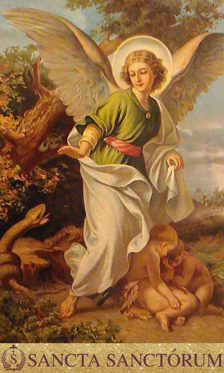 Oh Poderosos Arcangeles Celestiales Que Juntos Sirven Como