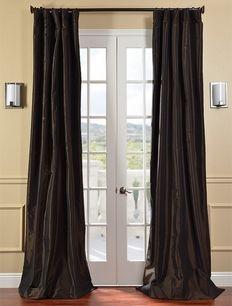 Java Faux Silk Taffeta Curtain Faux Silk Curtains Half Price