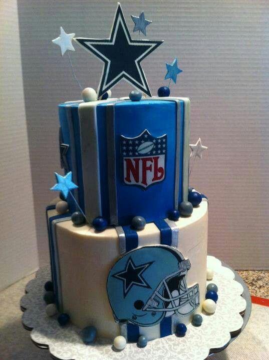 Marvelous Niiiice Dallas Cowboys Cake Dallas Cowboys Birthday Cake Funny Birthday Cards Online Alyptdamsfinfo