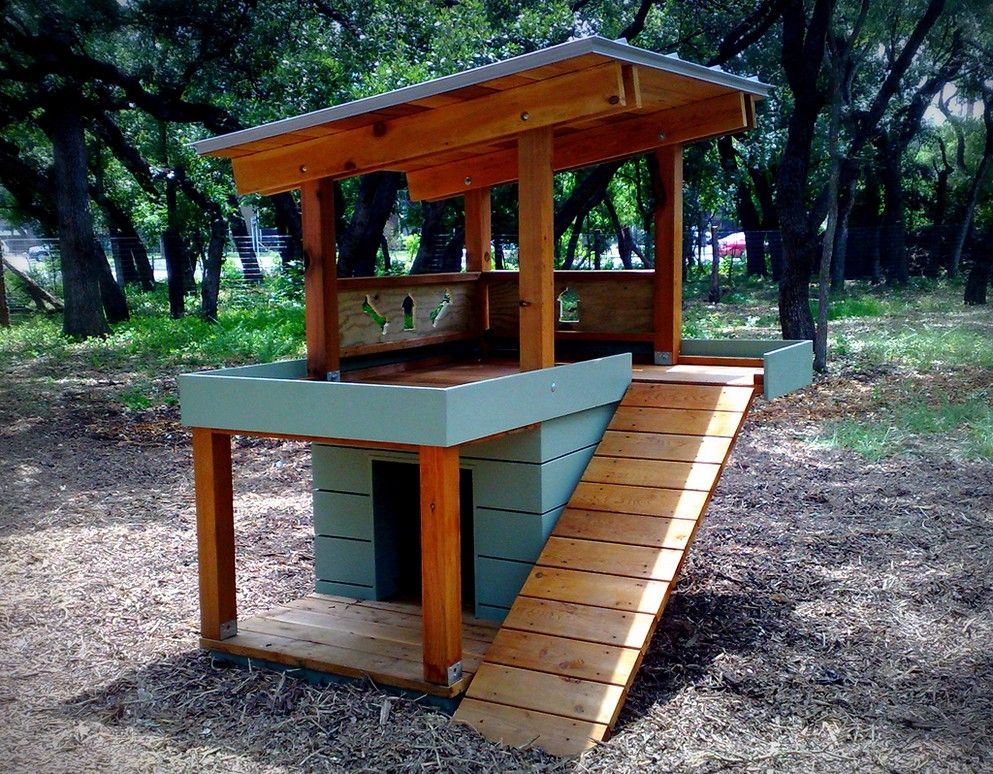 Cool dog houses plans pinteres for Neat house designs