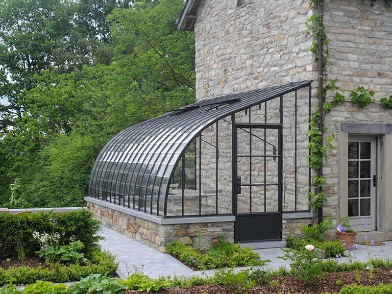 veranda orangerie stijl tegen landelijke woning aangebouwd model dbg classics | Tuinhuisjes ...