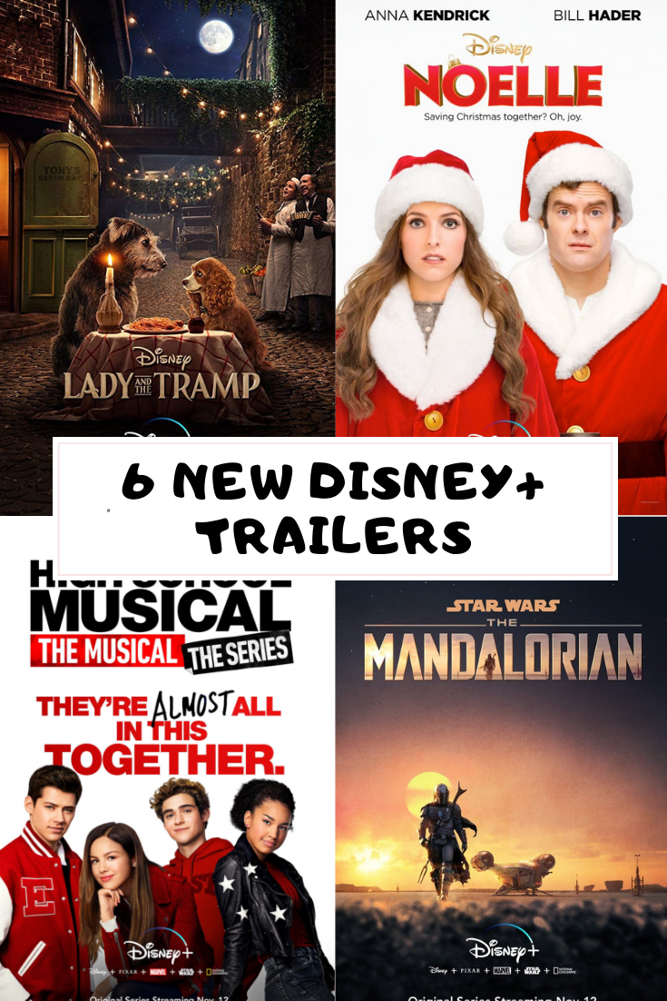 New Disney Trailers Including Noelle And The New Lady And The Tramp Movie Disney Plus Tramps Movie In And Out Movie