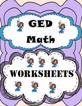 Ged Math Worksheet Bundle Ged Math Math Math Worksheets