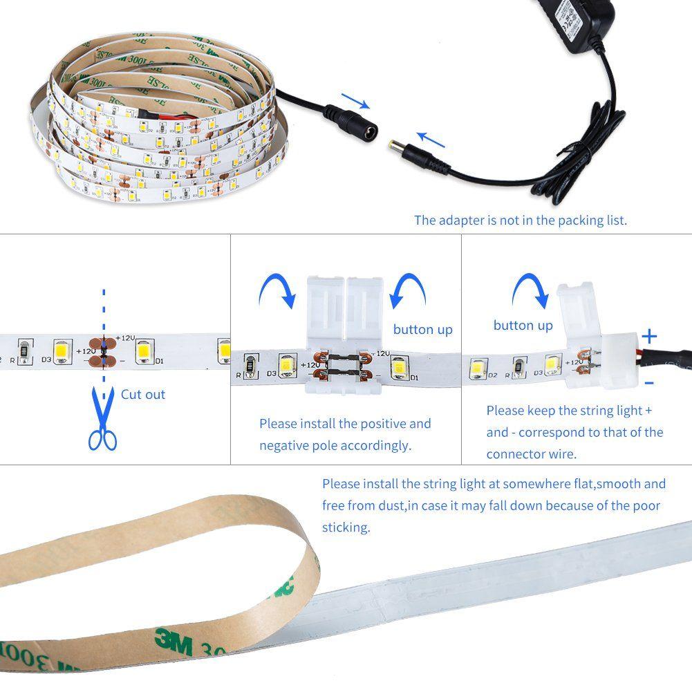 Led Light Strip Kit Do It Yourself Strip Lighting Led Light Strips Led Strip Lighting