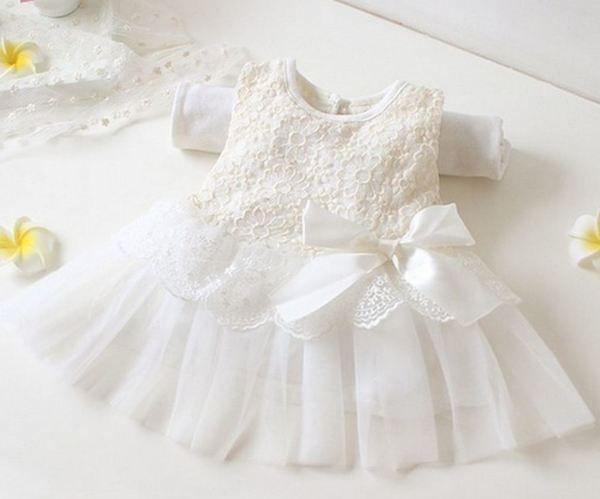 Baby Girls Bolero Cardigan Christening Wedding Bridesmaid 0-3 Months White