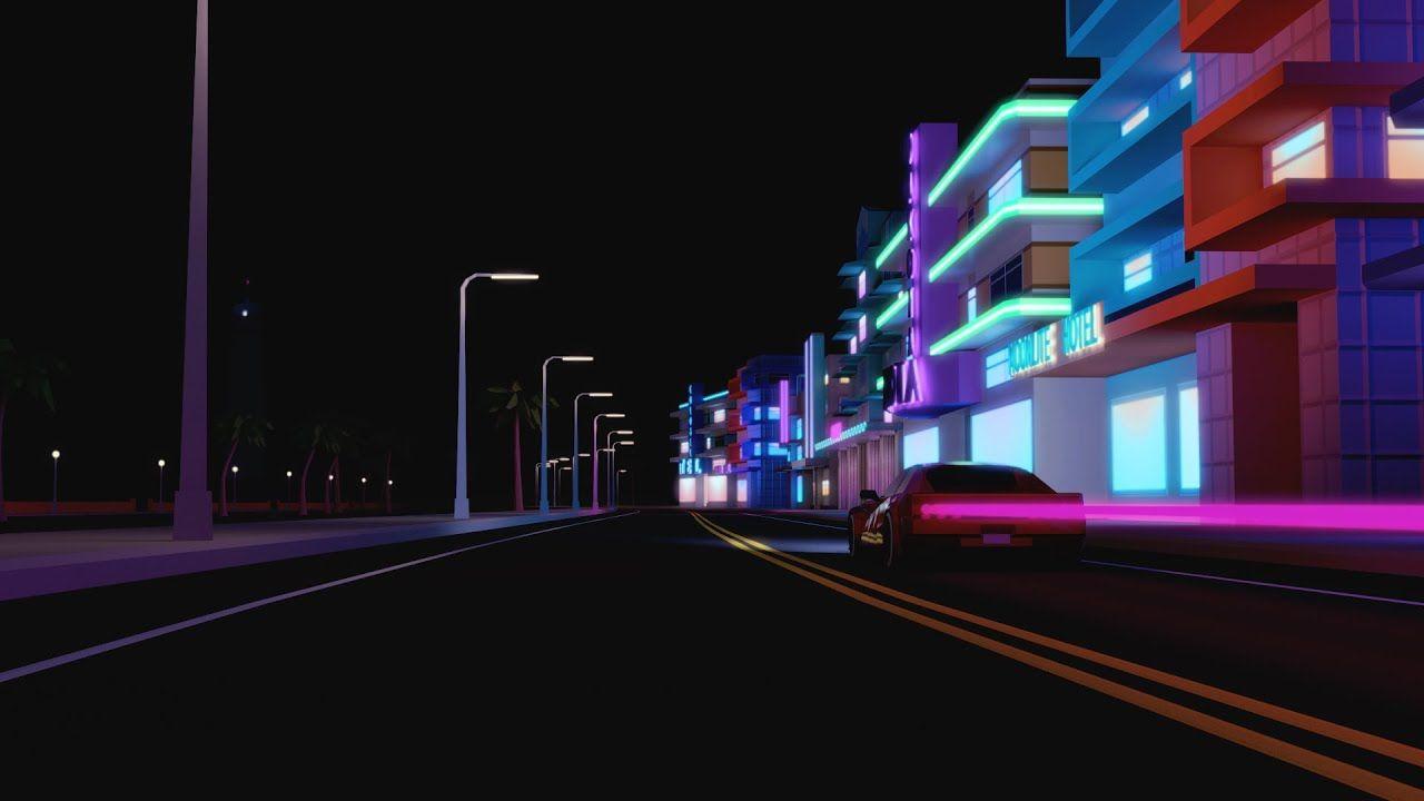 Crockett S Theme Vice City Remastered Edition Extended 30 Mins City Wallpaper Neon Wallpaper City Aesthetic gta vice city wallpaper 4k