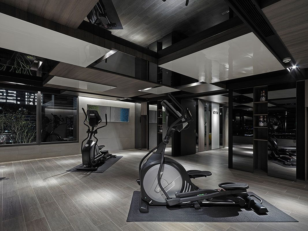 Modern Home Gym Gym Interior Home Gym Design Luxury Gym