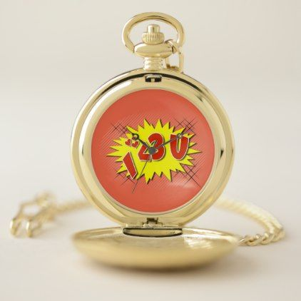 I Love You Pocket Watch   Valentines Day Gifts Gift Idea Diy Customize  Special Couple Love