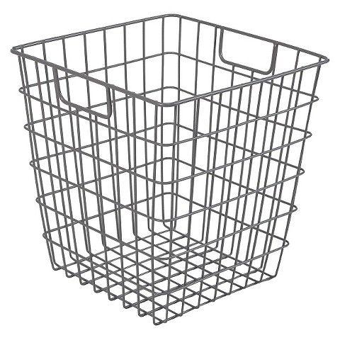 Decorative Wire Basket - Chrome - Room Essentials™ | spare bedroom ...