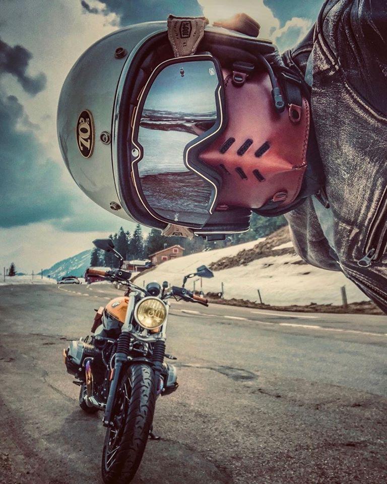 Epingle Sur Motorcycle Masks Vintage Cuir Accessoires Bobber Scrambler Chopper Cafe Racer