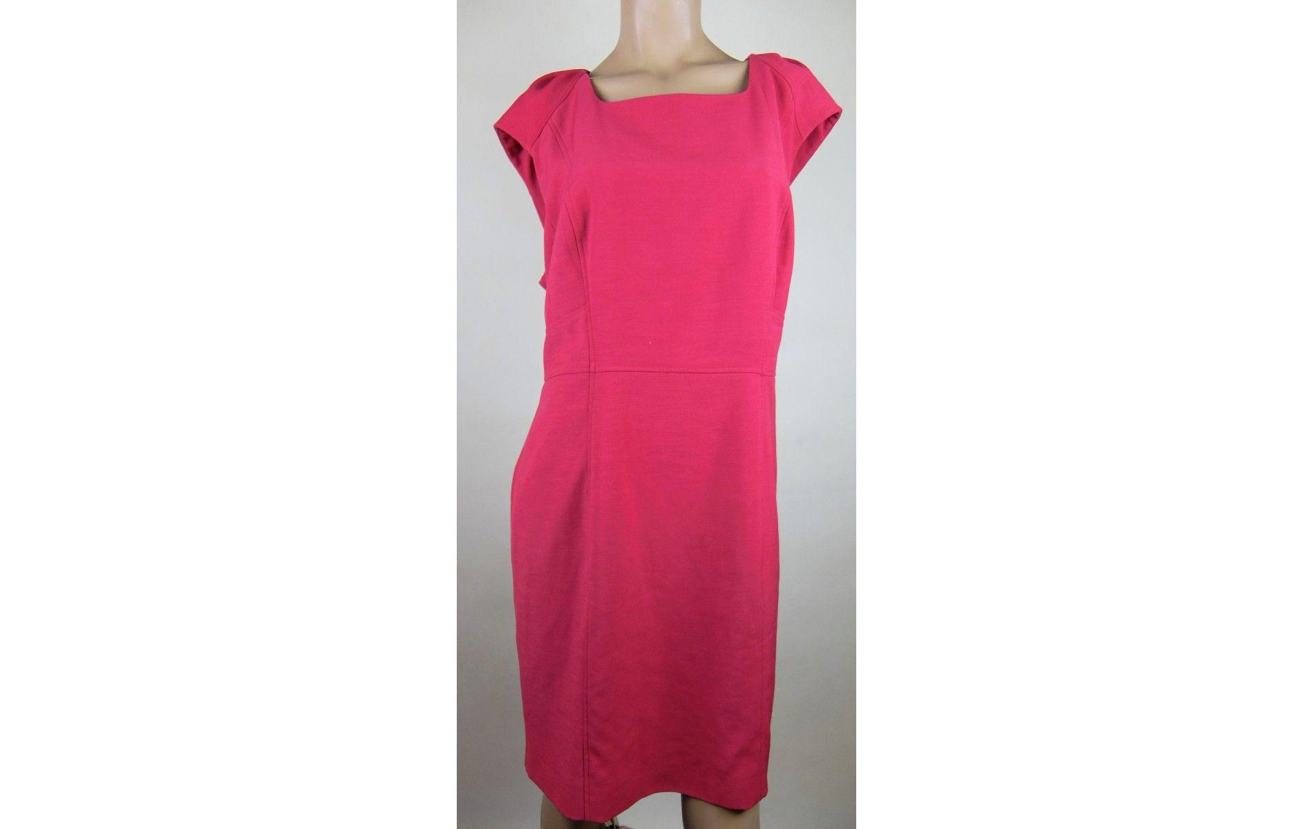F&F szuper nőies pink ruha 48-as - 46-48 - Molett használt ruha ...