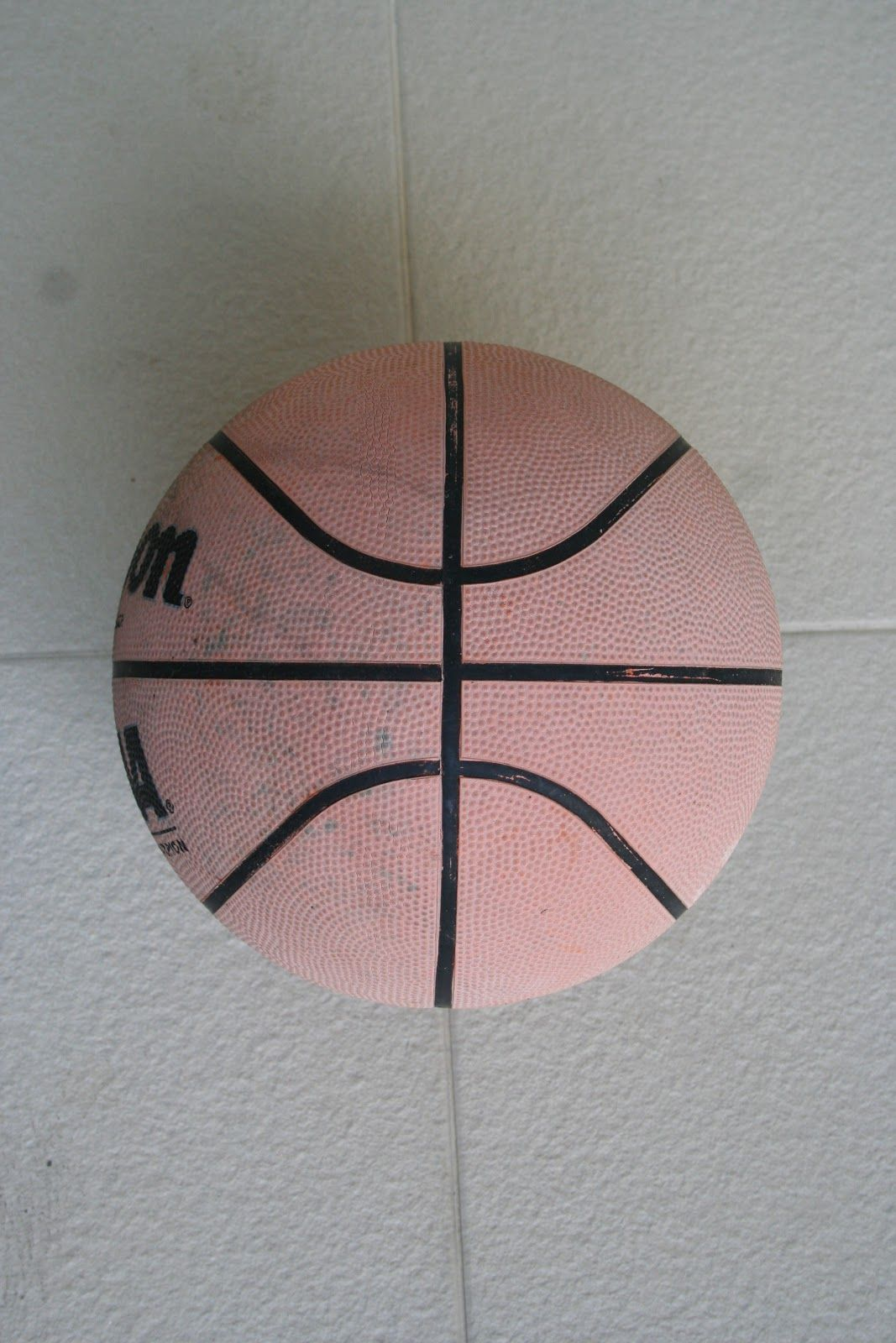 This Basketball Has A Shape Of A Coordinate Plane With 1 Positive And 1 Negative Parabola