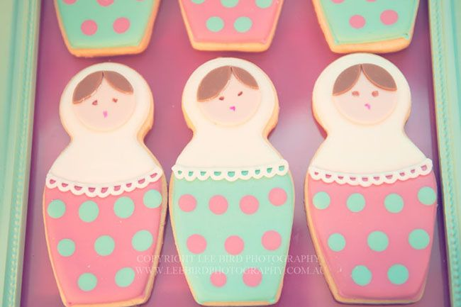 Babushkas...these would be perfect for the Patricia Polacco book!