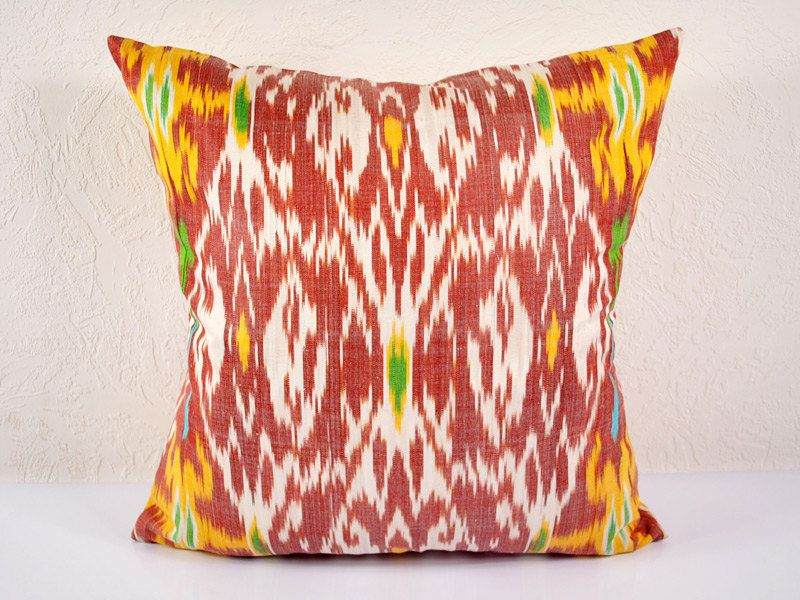 "Sale Ikat Pillow Kaleidoscope 20"" Ikat Pillow Cover A507 1AA3"